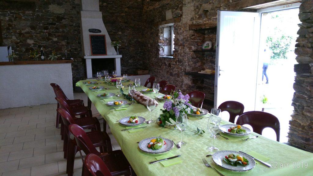 repas festif la bradière